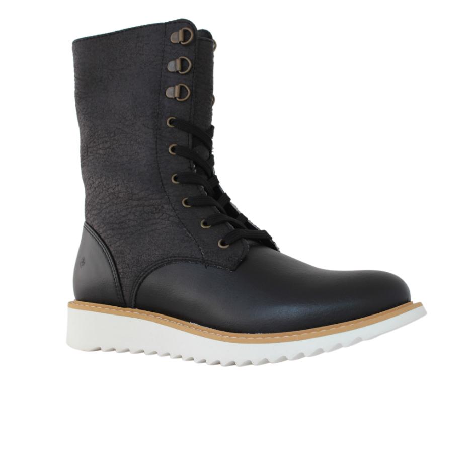 Comfy Lace-Up Boots - Vegan Shoes